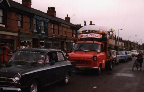 1960's Carnival Floats