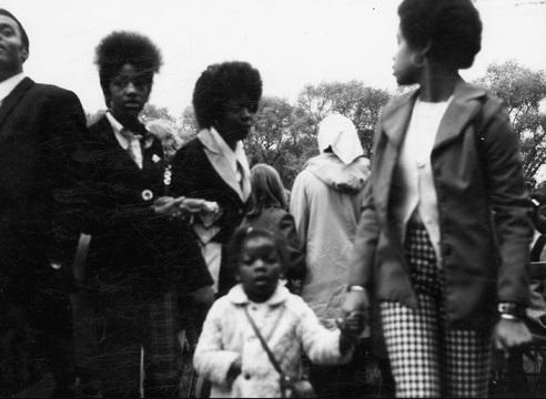 1960 Carnival visitors
