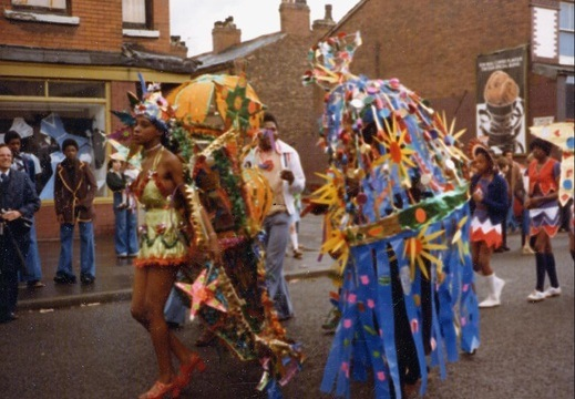 1970 Carnival parade