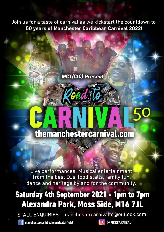 Manchester Carnival 50th Anniversary 2021